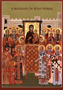 Sunday of Orthodoxy Icon