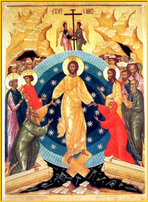 holy saturday icon
