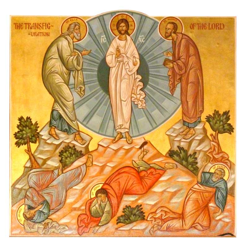 A joyous feast! Transfiguration of Christ celebrated today ...