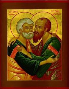 Holy Apostles Peter and Paul pray to God for us