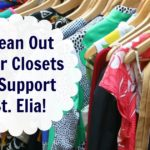 Clean Out Your Closet & Support St. Elia