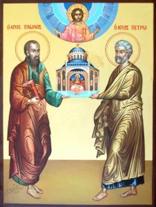 Holy Apostles Peter and Paul pray unto God for us!